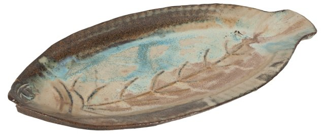 Handmade Ceramic Fish Platter
