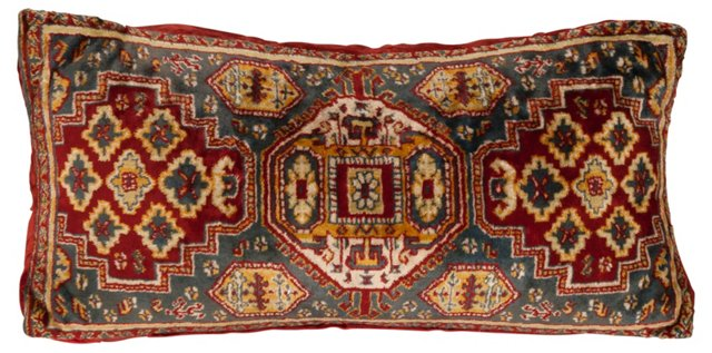 Rug Fragment  Pillow