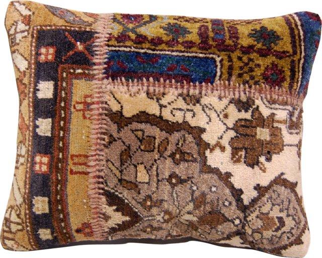 Rug Patchwork Pillow