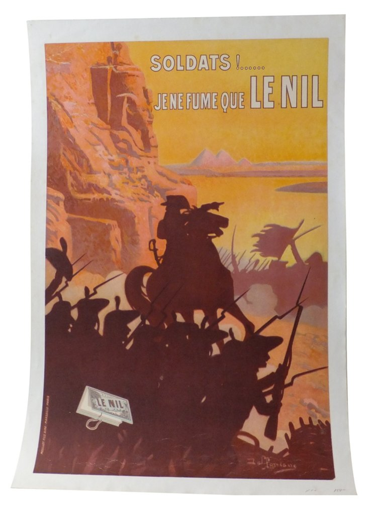 French Le Nil Rolling-Paper Poster