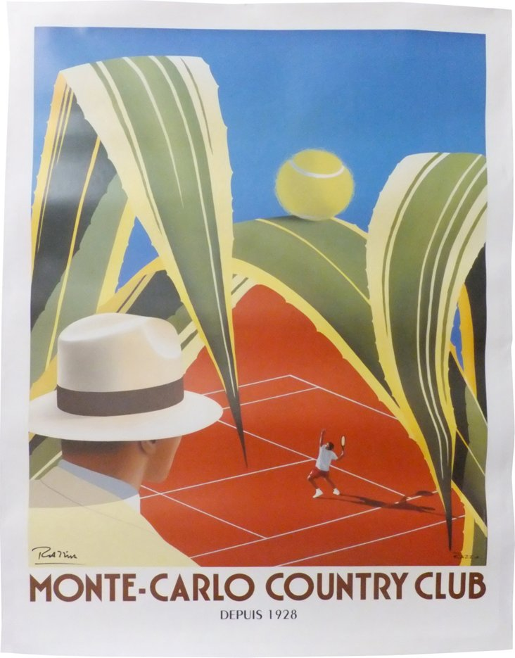 Monte-Carlo Country Club Poster
