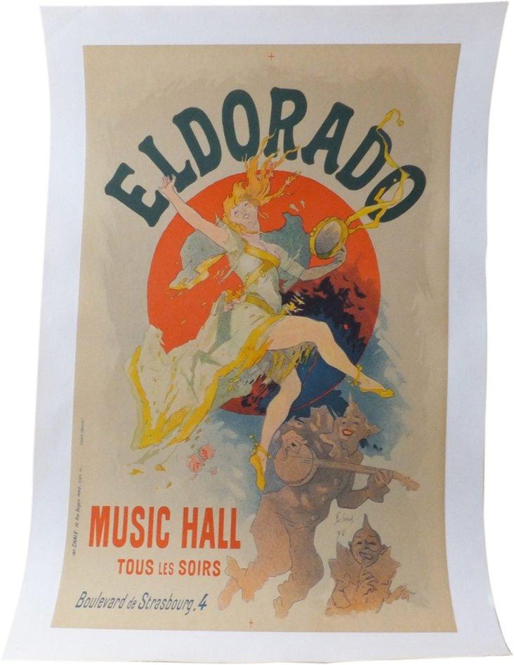 El Dorado by Jules Chéret