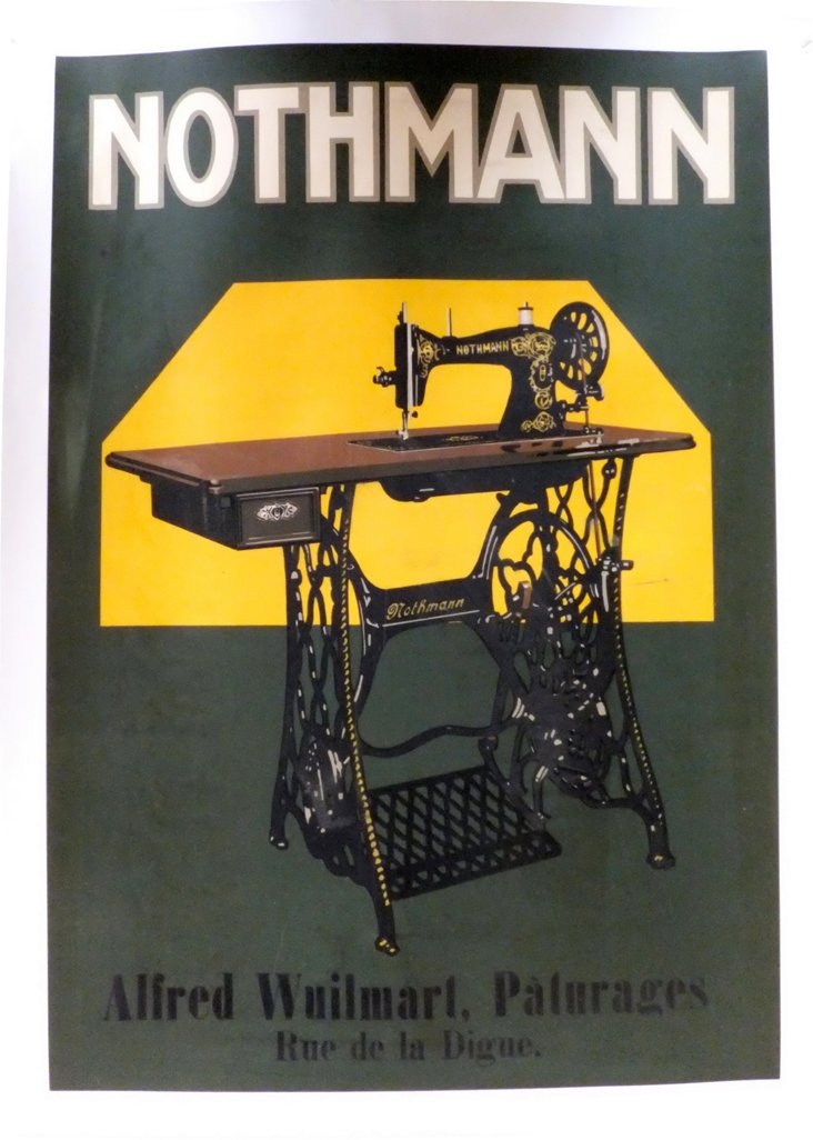 Nothmann Sewing Poster