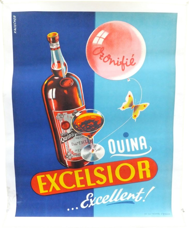 Quina Excelsior Poster