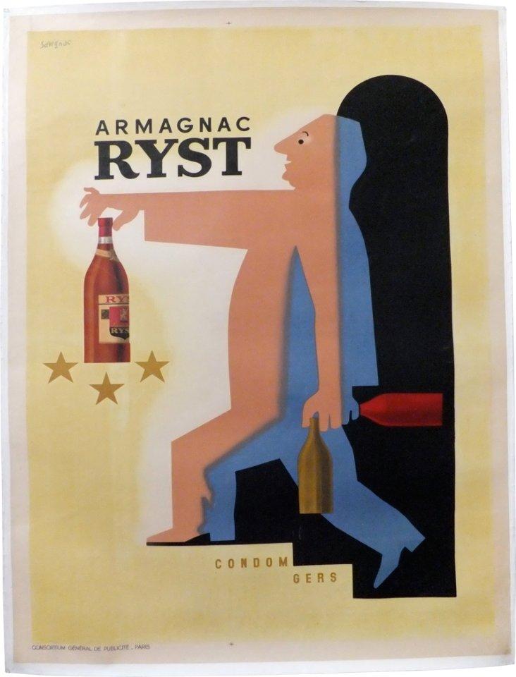 Armagnac Ryst Poster