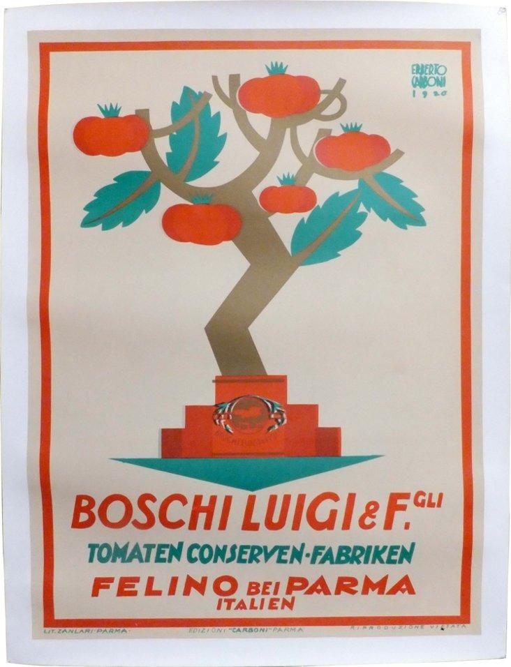 White Boschi Luigi Advertisement