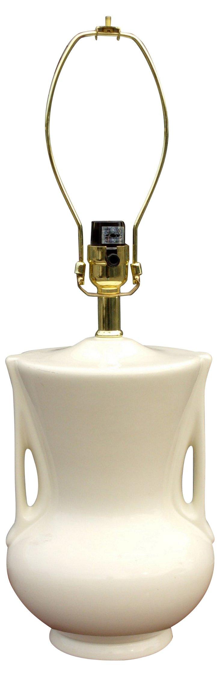 Porcelain Urn Lamp