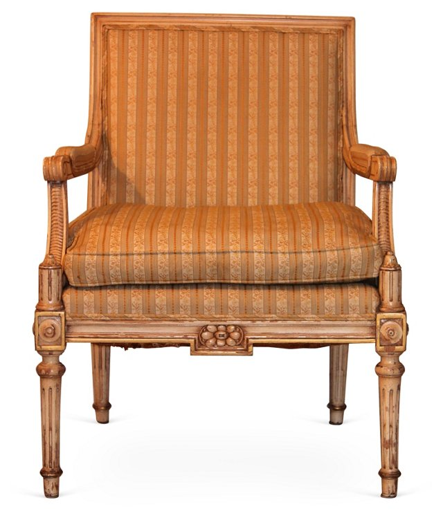 Neoclassical-Style  Fauteuil