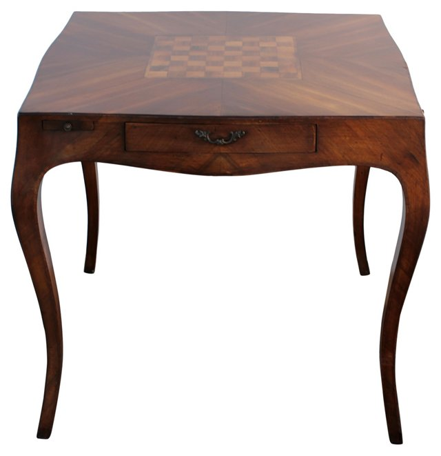 Inlaid Game Table