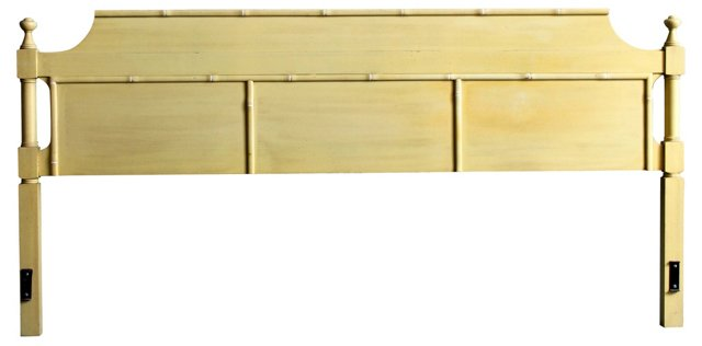 Faux-Bamboo King-Size Headboard