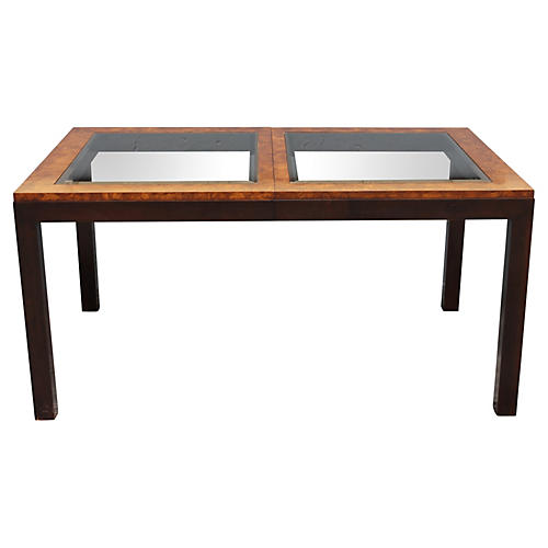 1970s Mid-Century Modern Dining Table