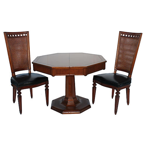 Midcentury Dining Set, 5 Pcs