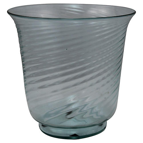 1920s Steuben Swirl Vase