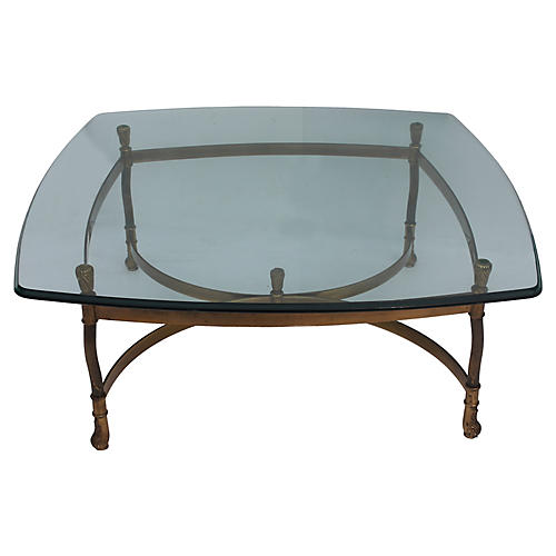Midcentury La Barge Coffee Table