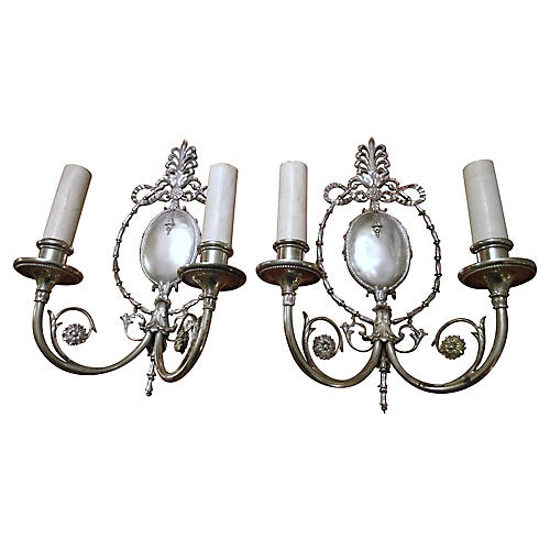 1913 E.F Caldwell Sconces, Pair
