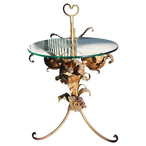 Maison Charles Lotus Lamp Table