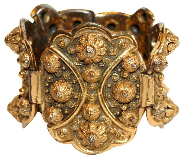 1940s Etruscan-Style Bracelet