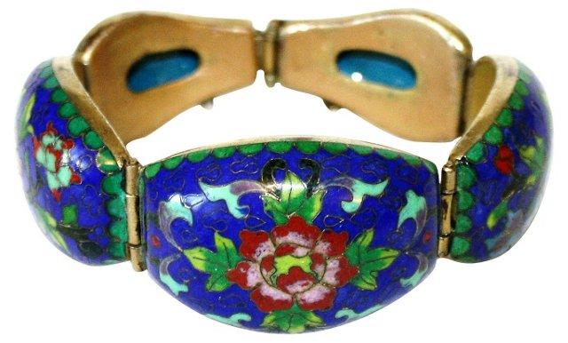 Chinese Cloisonné Bracelet