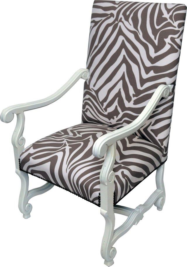 Zebra Armchair