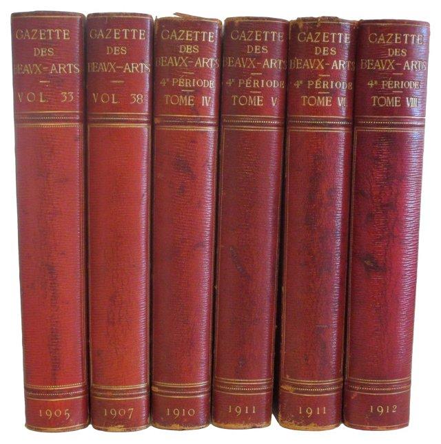 Gazette des Beaux-Arts, 6 Vols
