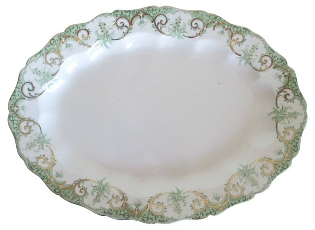 Alcock & Co. Serving Platter, 1891