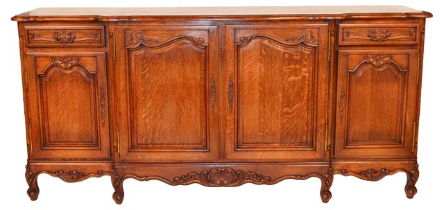 19th-C. French    Country Sideboard