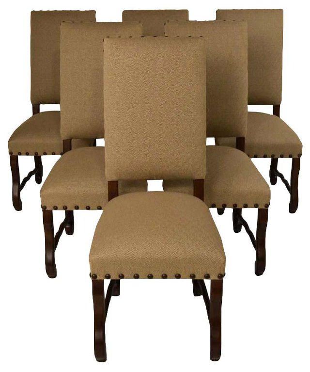 Dining Chairs, S/6