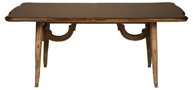 French Dining Table w/ Leaf