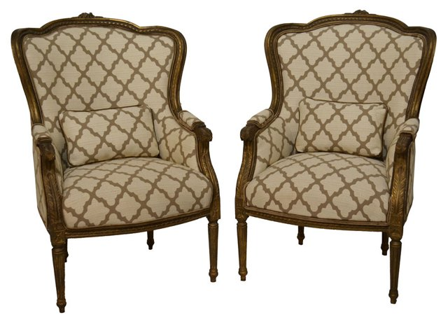French    Bergères, Pair