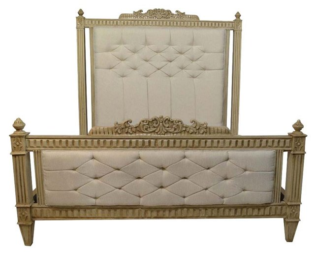 Louis XVI-Style King-Size Bed