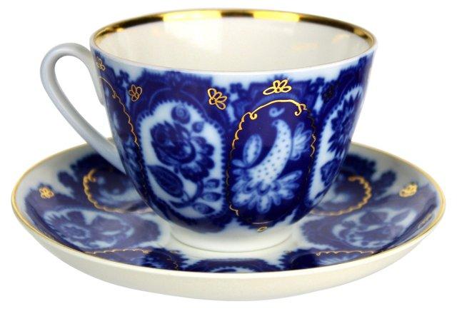 Lomonosov Cup & Saucer