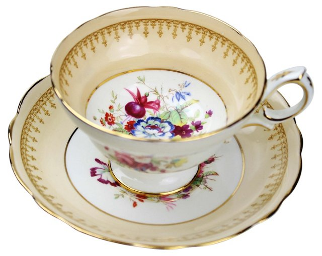 Pink Hammersley Cup & Saucer