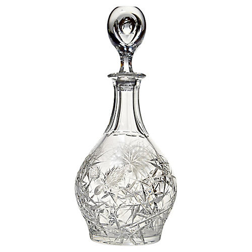 Svarc Crystal Decanter