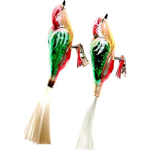 Woodpecker Clip Ornaments, Pair