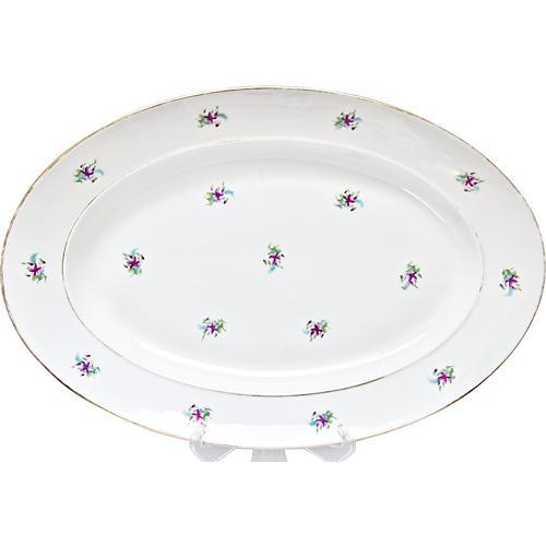 19th-C. Serving Platter