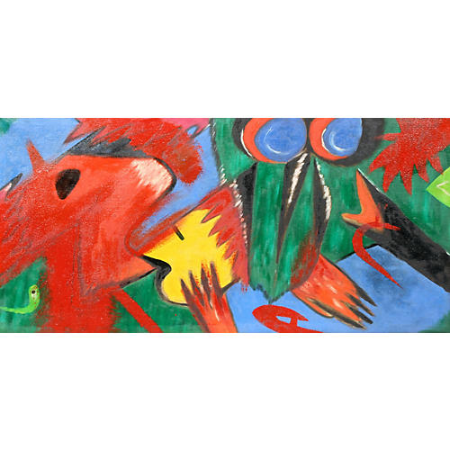 1960s Abstract Animals
