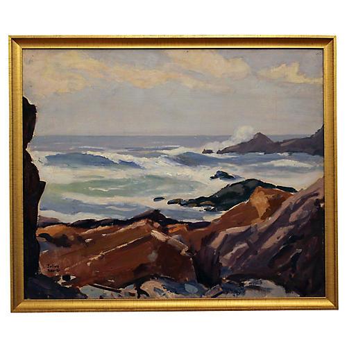 Seascape by Julius Richter