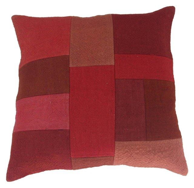 Turkish Patchwork      Pillow