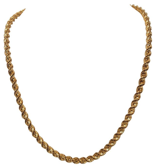 Napier Rope Chain Necklace