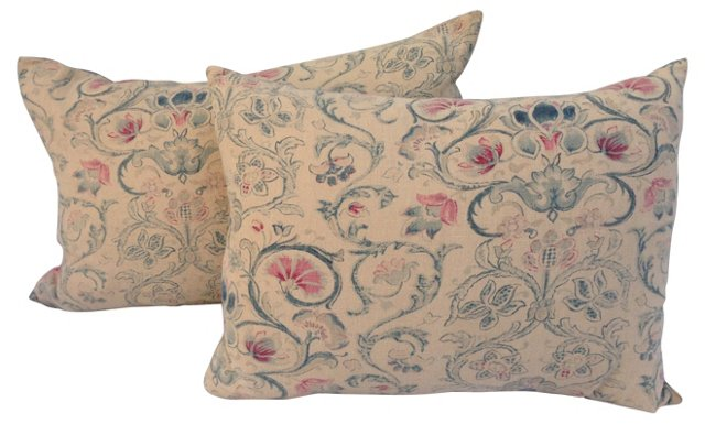 Ralph Lauren Provence Pillows, Pair