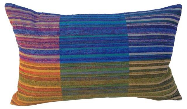 Pillow w/ 1960s Raw Silk
