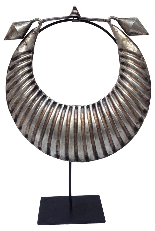 Tribal  Necklace on  Stand