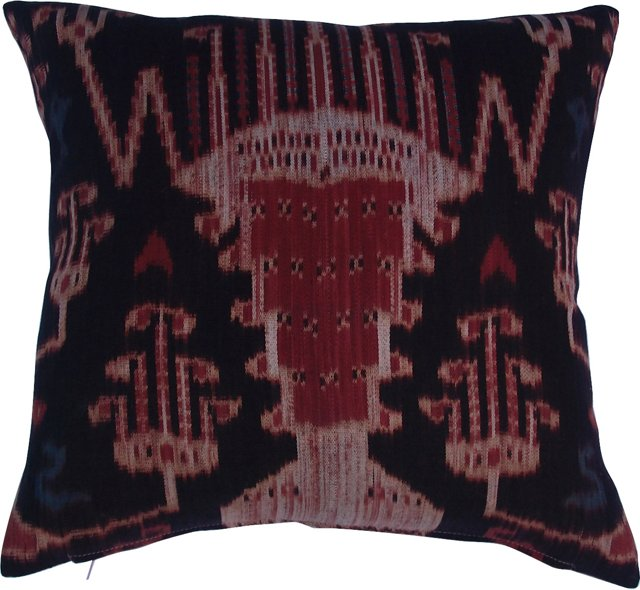French Ikat   Pillow