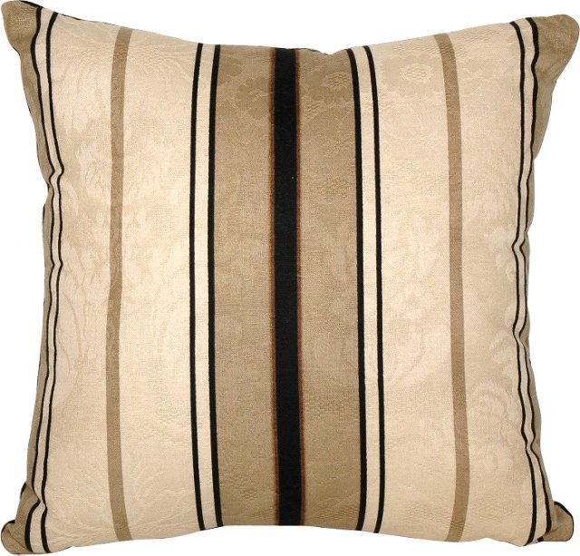Striped Jaquard Charlbury Pillow