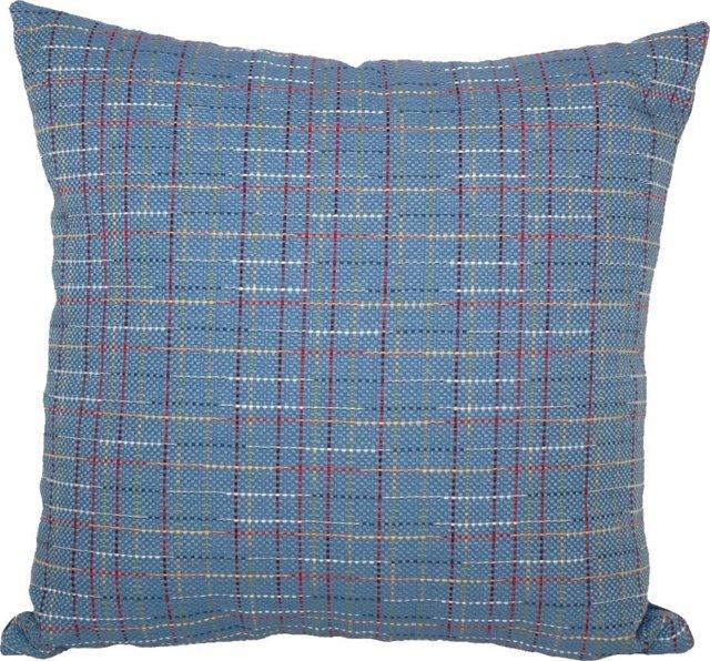 Blue Linen   Pillow