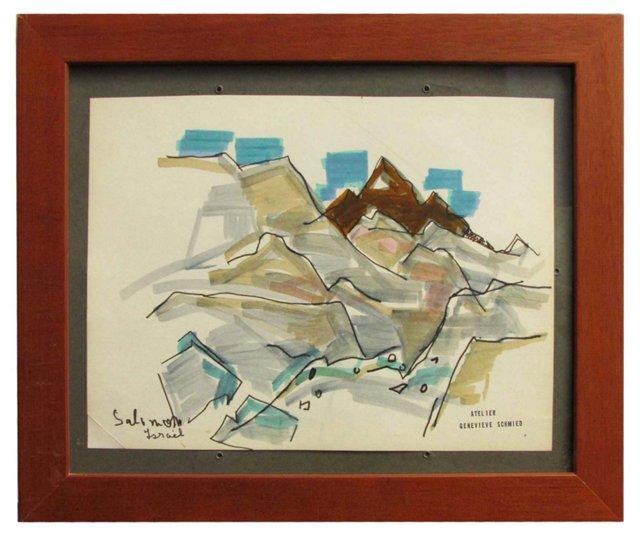 Salomon Israel by Genevieve Schmied