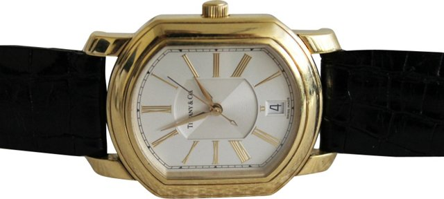 Tiffany & Co. 18K Gold Watch