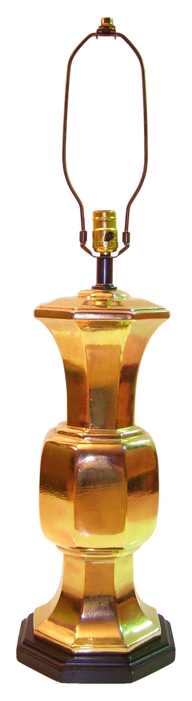 Gilt Ceramic Lamp
