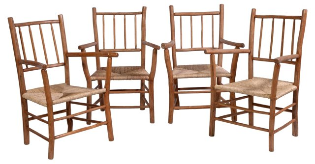 Twig   Chairs, Set of 4