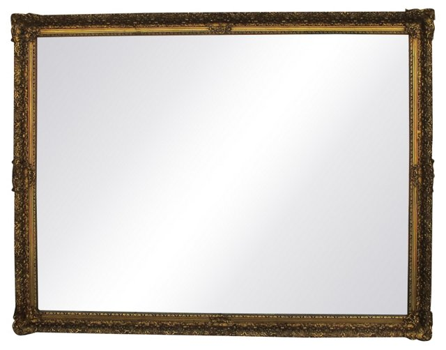1960s  Giltwood Mirror